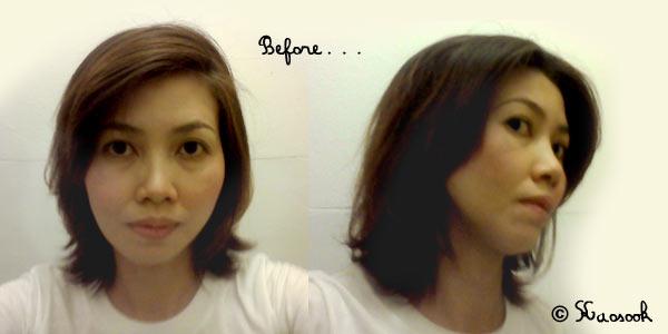 before ทรงผมก่อนตัด
