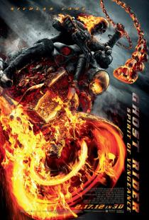 Ghost Rider 2 Spirit of Vengeance Poster